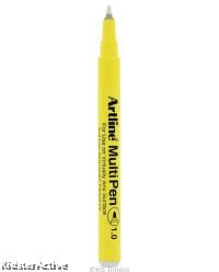 White Artline MultiPen (Solid)
