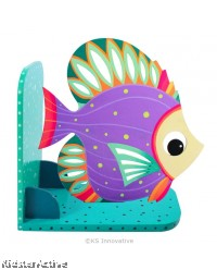 Animal Bookend Aquatic Theme - Beautiful Angelfish