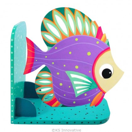 Animal Bookend Aquatic Theme - Beautiful Angelfish
