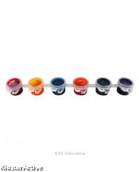 Batik Colour Dye Bucket - 6 x 2.5ml