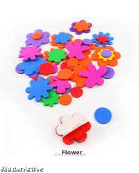 EVA Foam Shapes Sticker Pack