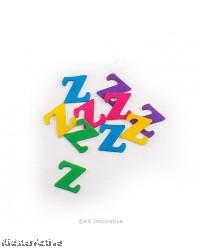 Felt Alphabet Stickers - Single - Pack of 10