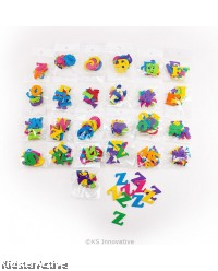 Felt Alphabet Stickers - A to Z Set in Pack of 10