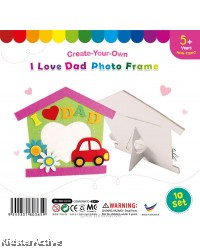 Felt Father's Day Photo Frame - Pack of 10