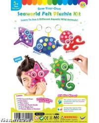 Felt Seaworld Plushie Kit