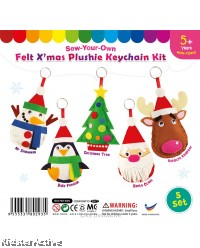 Felt Christmas Plushie - Pack of 5