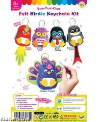 Felt Birdie Keychain Kit