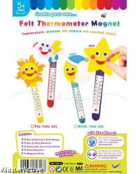 Felt Thermometer Magnet Set Pack of 2
