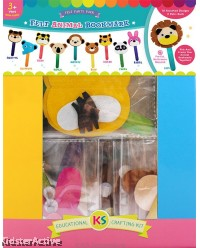 Felt Animal Bookmark Party Kit Pack of 20