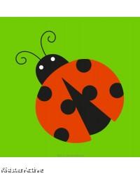 Canvas Art Small - Ladybird