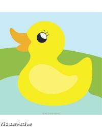 Canvas Art Small - Duckling
