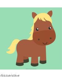 Canvas Art Small - Horse