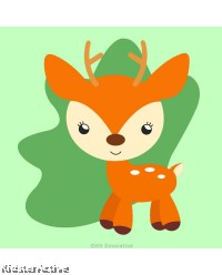 Canvas Art Small - Deer