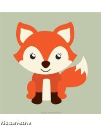 Canvas Art Small - Fox
