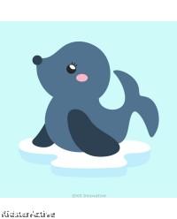 Canvas Art Small - Sea Lion