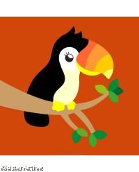 Canvas Art Small - Hornbill