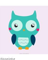 Canvas Art Small - Owl