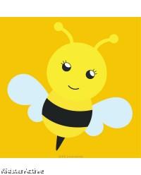 Canvas Art Small - Bee