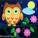 Canvas Art - Owl