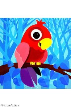 Canvas Art - Parrot