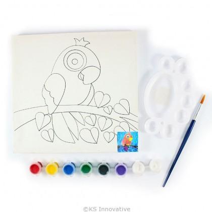 Canvas Art - Hornbill
