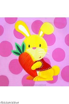 Canvas Art - Rabbit