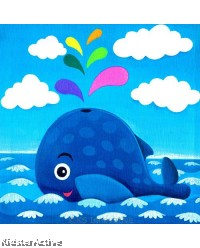 Canvas Art - Whale