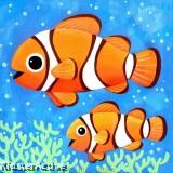 Canvas Art - Clownfish