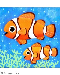 Canvas Art - Clownfish