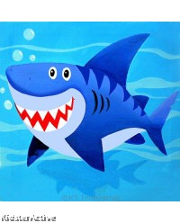 Canvas Art - Shark