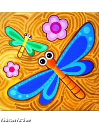 Canvas Art - Dragonfly