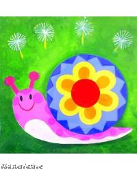 Canvas Art - Snail