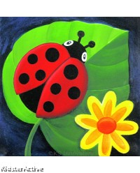 Canvas Art - Ladybird