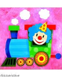 Canvas Art - Party Clown