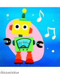 Canvas Art - Meter Robot