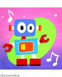 Canvas Art - Screen Robot