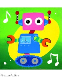 Canvas Art - Wheel Robot