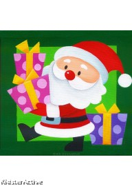 Canvas Art - Santa Claus