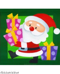 Canvas Art - Santa Claus