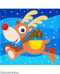 Canvas Art - Reindeer