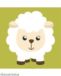 Canvas Art Small - Sheep