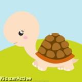Canvas Art Small - Tortoise