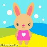 Canvas Art Small - Rabbit