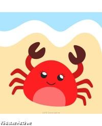Canvas Art Small - Crab