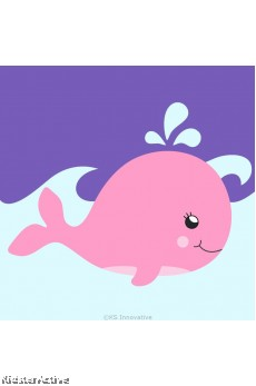 Canvas Art Small - Whale
