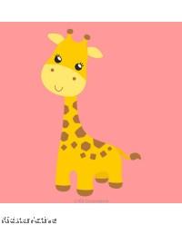 Canvas Art Small - Giraffe