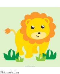 Canvas Art Small - Lion
