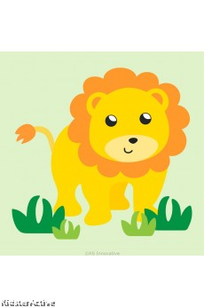 Canvas Art Small - Lion