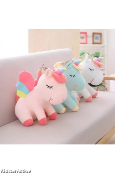 Soft Rainbow Unicorn Plush Toy