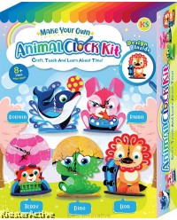 Animal Clock Stand Box Kit
